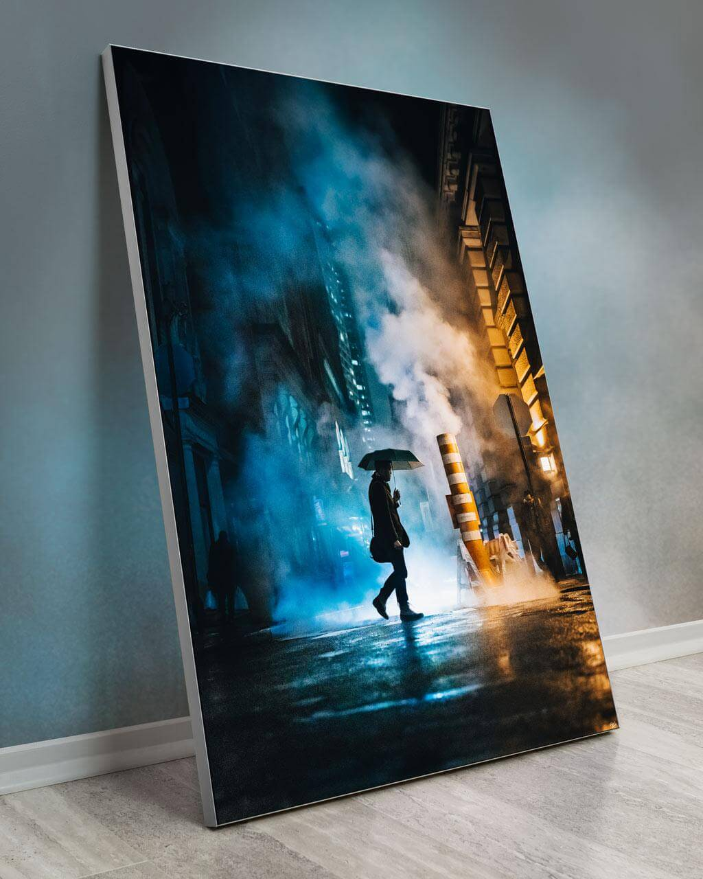 Huge Wall Decor New York City Street Art Gigantic Big Biggest Massive Huge Large Largest Giant Wall Décor Art Backlit Fabric Home Deco Artwork Artist New York City Street Icon Portrait Scenic Photographer David Everly undercover