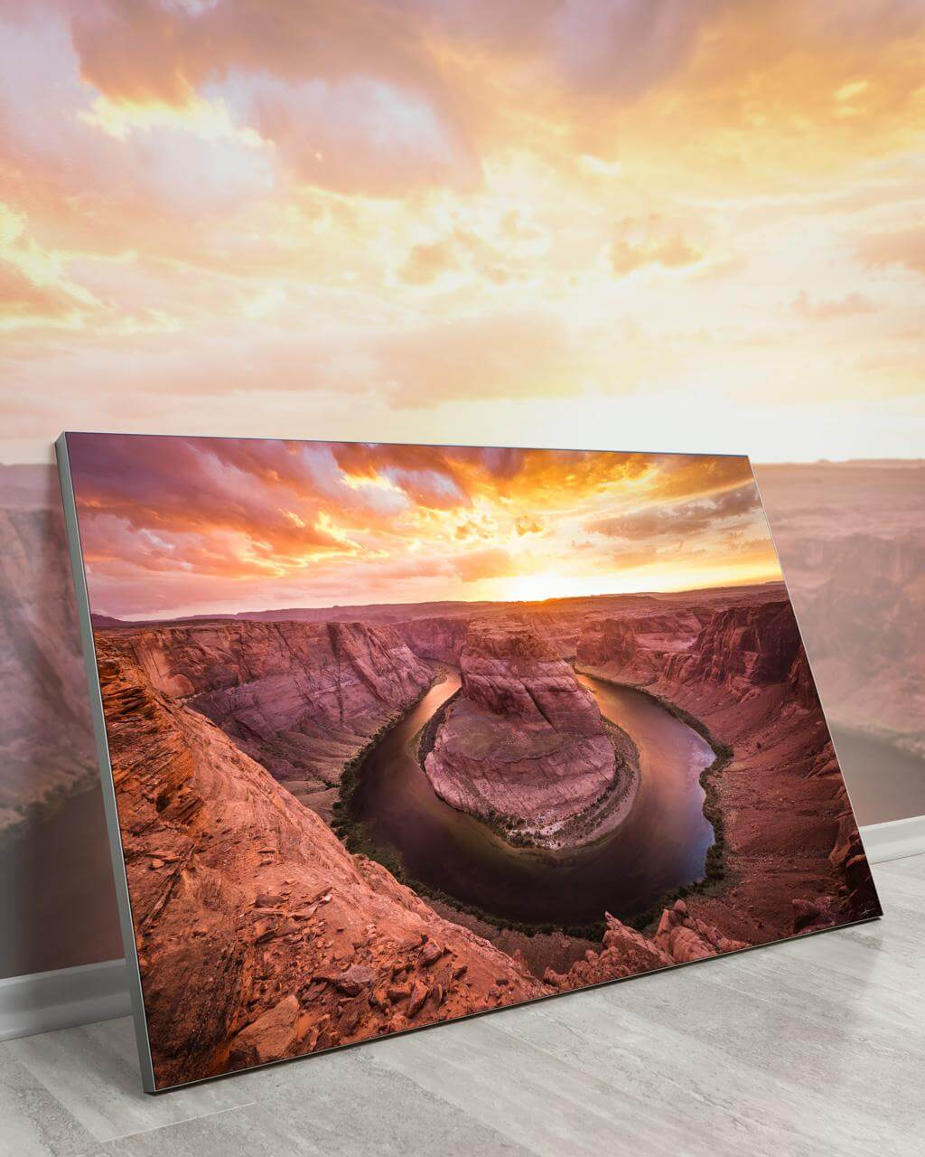 Massive Wall Art Huge Decor Large Big Biggest Massive Largest Giant Gigantic Wall Décor Art Backlit Fabric Home Deco Artwork Artist Andy Vu Andyhvu Landscape Scenic Photography Instagram Desert Canyon Valley Rock Utah