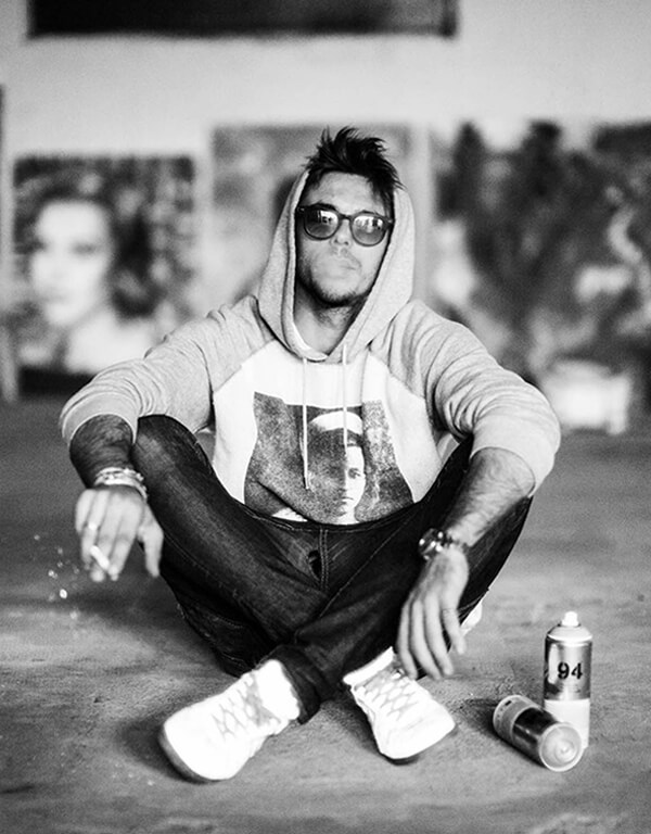Big Artist Lukas Avalon lukasavalon Oversized Wall Art home Decor Spray Paint Painting Colorful Abstract Grafitti Celebrity Celeb Pop Art Instagram Artist