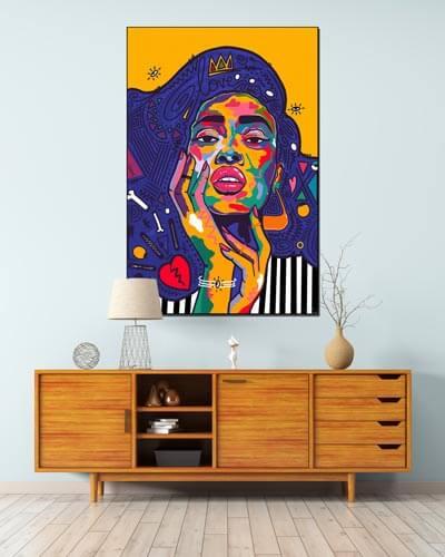 New Artist Nuwarhol Pop Art