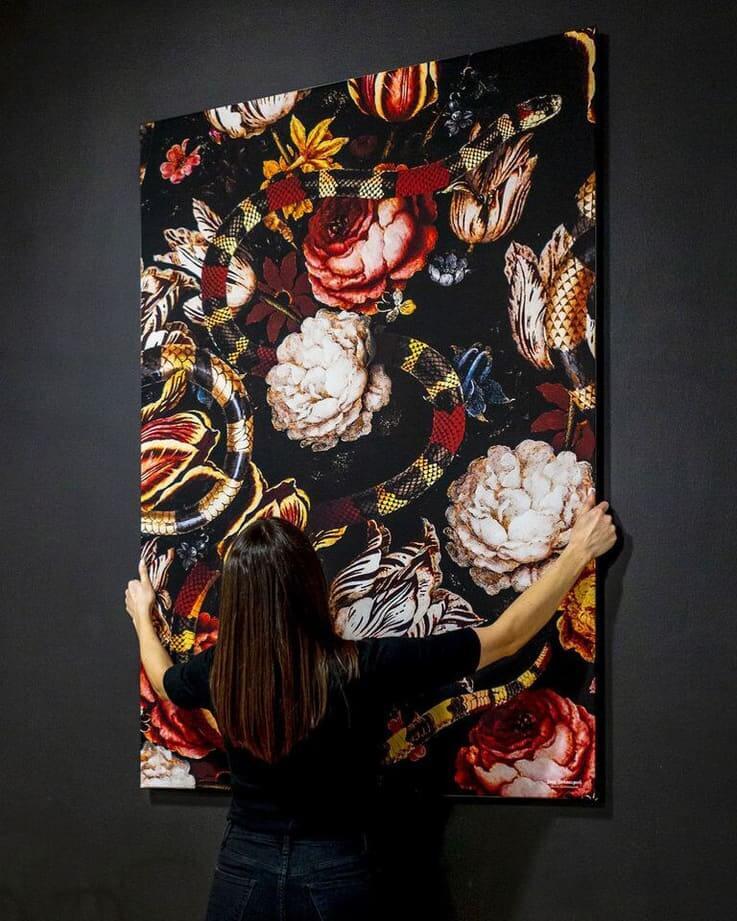 big wall decor interchangeable fabric material artwork artfab large wall art